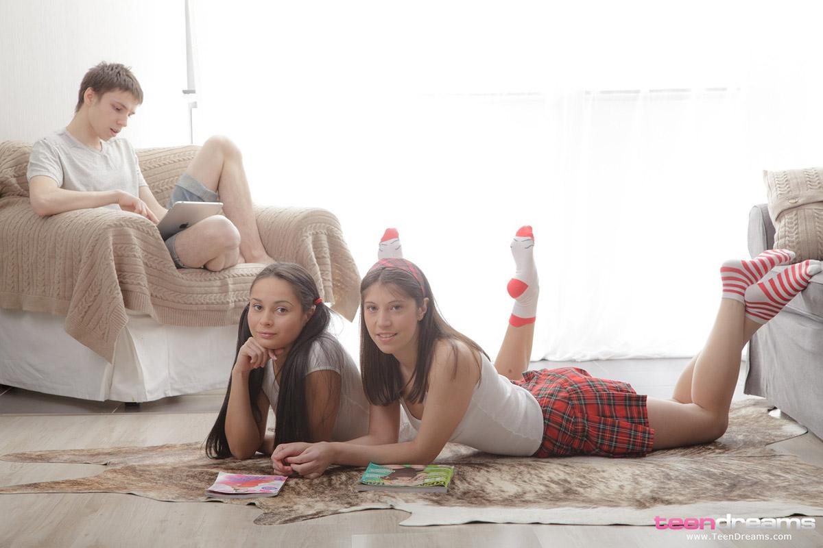 Dreier Mädchen